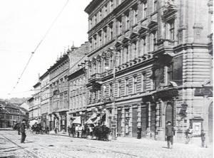 Na Poříčí cca 1910